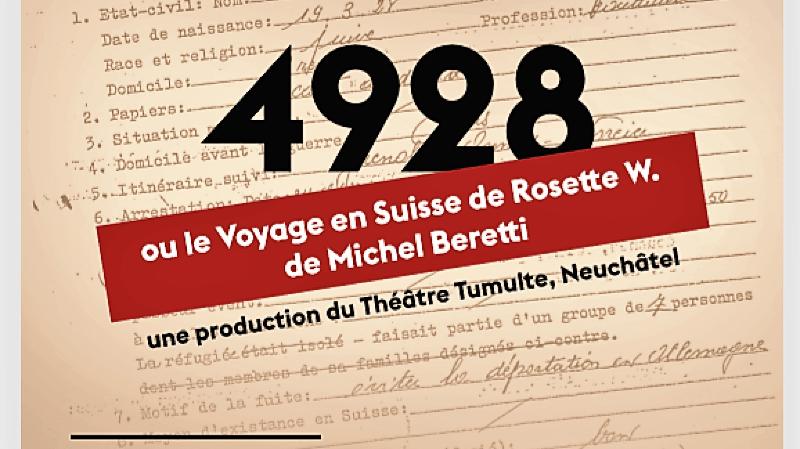 4928 ou le Voyage en Suisse de Rosette W