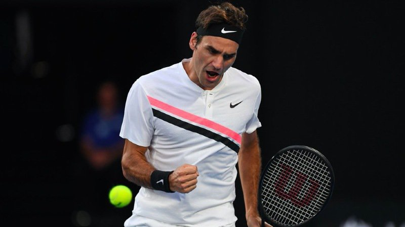 Roger Federer disputera les demi-finales à Melbourne Park pour la quatorzième fois.