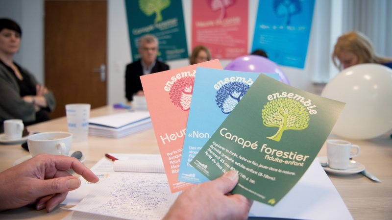 Un centre de santé scolaire lance des actions pour rassembler parents et enfants sur le thème de la santé