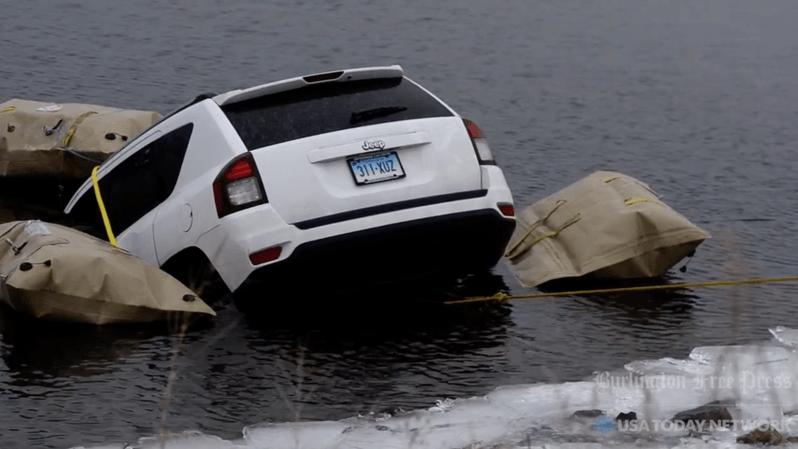 États-Unis: ils suivent leur GPS et terminent leur course dans un lac