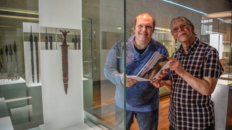 Florian di Cesare et Jacques-Olivier Reymond, deux personnes en situation de handicap intellectuel, ont contribué à la réalisation du guide en langue facile.