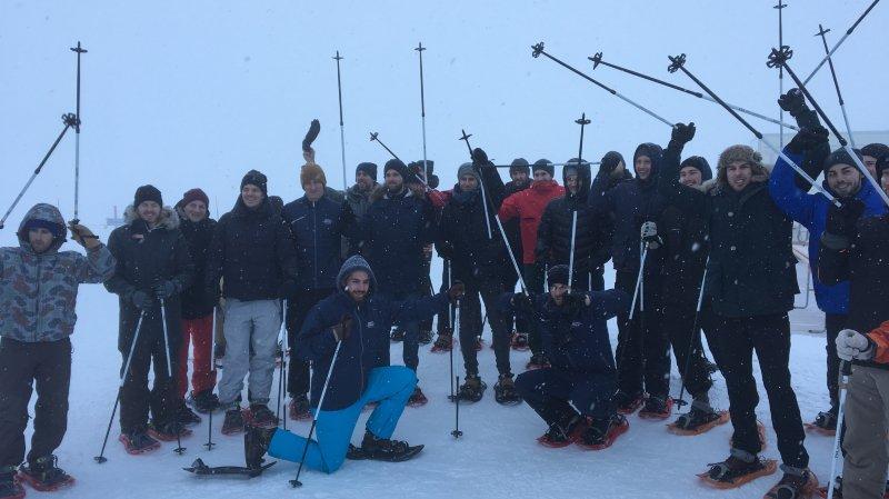 Le HCC casse la routine et renforce son esprit d'équipe à Adelboden