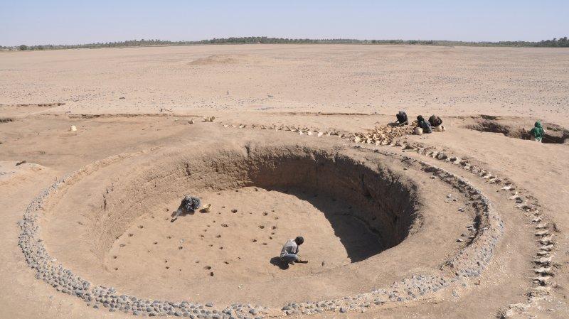 La tombe royale mise à jours par les archéologues.