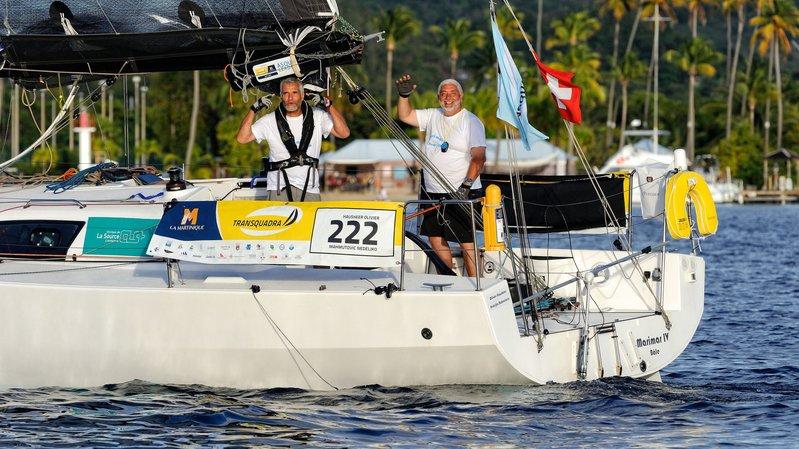 Olivier Hausheer et Nedeljko Mahmutovic ont traversé l'Atlantique à bord de Marimar IV.
