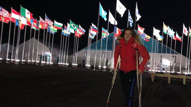 Une blessure au genou gauche prive Mélanie Meillard de sa première participation aux Jeux olympiques, mais pas de carrière