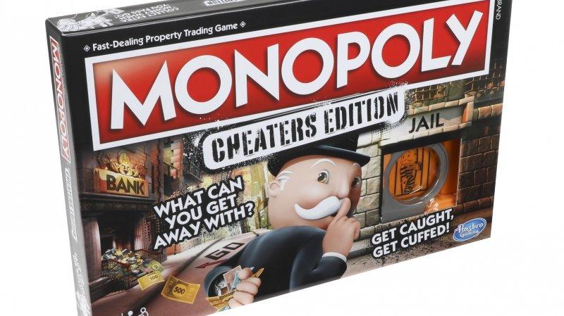 Jeux de société: un Monopoly spécial tricheurs commercialisé cette année