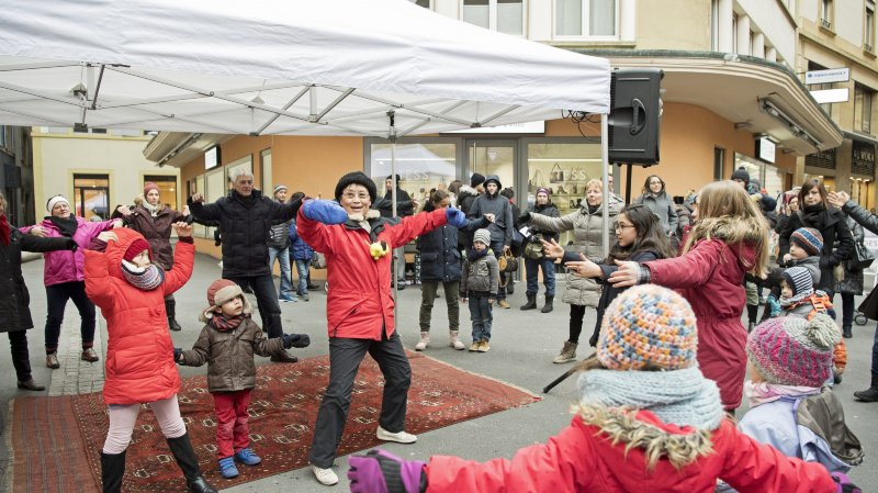 Nouvel An chinois à Neuchâtel: de la gym pour fêter l'entrée dans l'année du chien