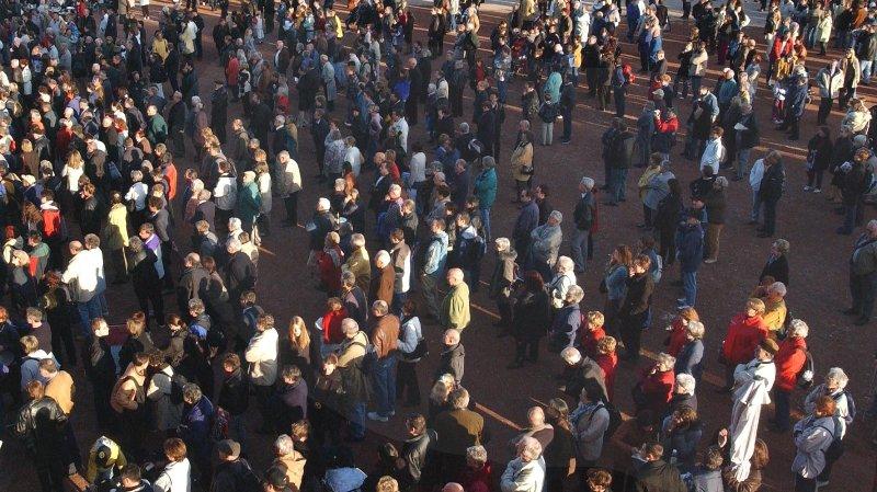 La population neuchâteloise a diminué de 572 personnes en 2017.
