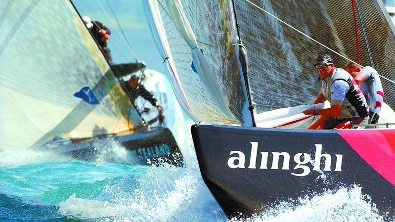 Le triomphe total d'Alinghi en 2003