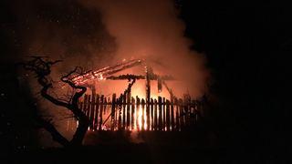 Une grange en feu à Nendaz (VS): les 15 vaches sauvées