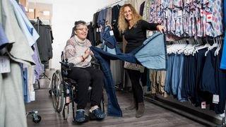 La seule boutique de Suisse spécialisée dans le vêtement pour handicapés a ouvert à Boudry