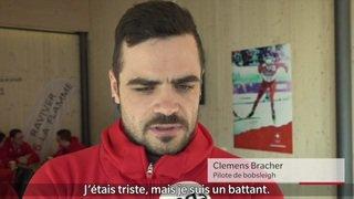 JO 2018: portrait de Clemens Bracher, bobeur suisse de 31 ans