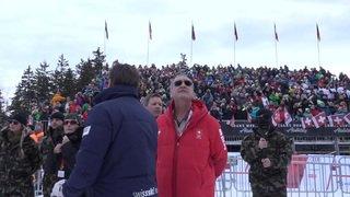 La Coupe du monde de ski féminine à Crans-Montana a attiré la foule