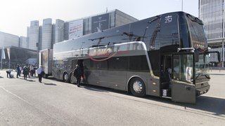 Genève-St-Gall, Coire-Sion et Zurich-Lugano: Berne accorde une concession pour des bus longues distances