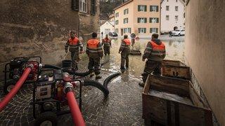 St-Ursanne inondée