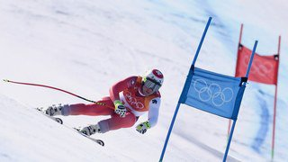 JO 2018: Ski alpin - Beat Feuz remporte l'argent au Super-G, Mayer sacré
