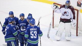 NHL: Sven Bärtschi et Timo Meier marquent et perdent