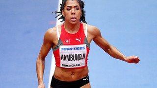 Athlétisme: la Bernoise Mujinga Kambundji décroche la médaille de bronze du 60 m aux Mondiaux en salle