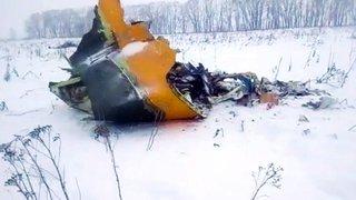 Aucun survivant  dans le crash