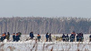 La neige complique l'enquête sur le crash