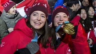 Dans le camp suisse, des médailles et des larmes