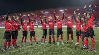 Arcinfo Kids, avec Neuchâtel Xamax FCS - Servette FC