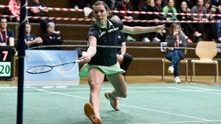 Sabrina Jaquet en huitièmes de finale du Swiss Open de Bâle