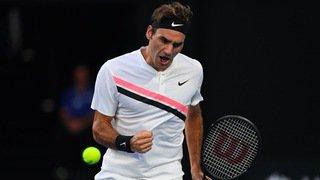 Open d'Australie: Roger Federer se défait de Tomás Berdych en trois sets