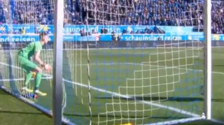 Football: en Allemagne, un gardien encaisse un but très curieux