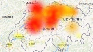 À Davos, le réseau mobile semble être surchargé