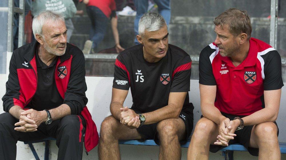 Michel Decastel, José Saiz et Stéphane Henchoz travailleront toujours ensemble la saison prochaine.