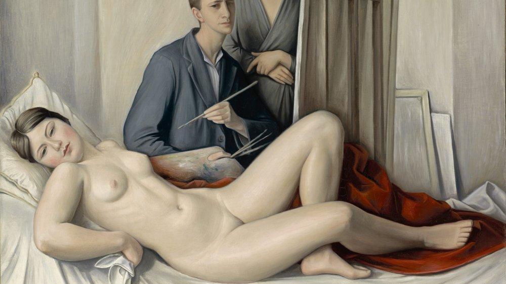 """François Barraud, """"La séance de peinture"""", 1933"""