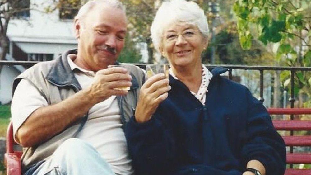 Georges et Gerda Jenzer-Czenskowsky, heureux retraités.