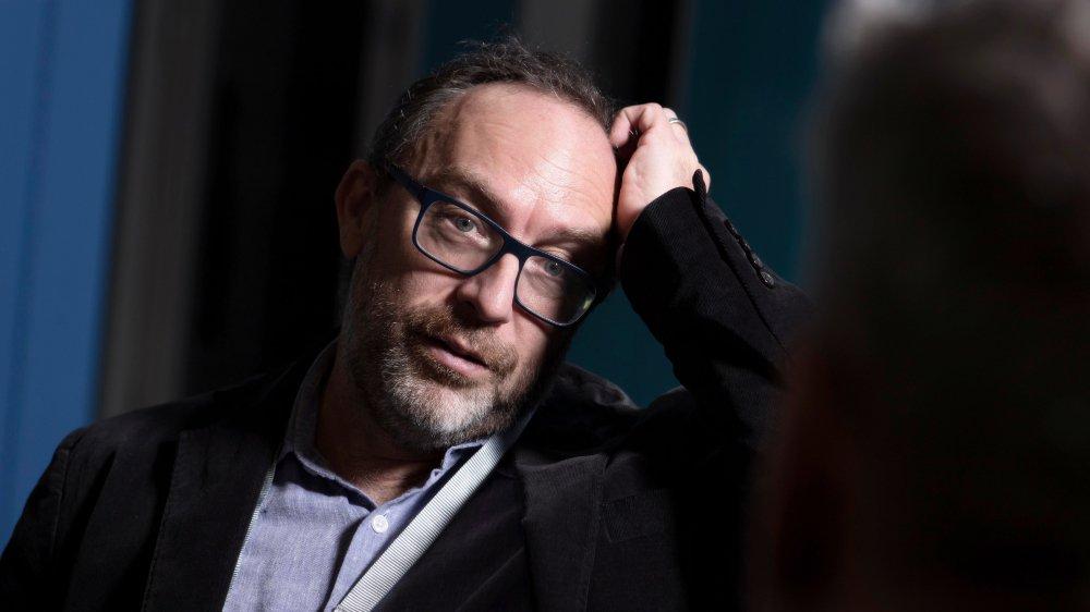 Jimmy Wales, cofondateur  du site encyclopédique Wikipedia, était de passage, jeudi, à Fribourg.