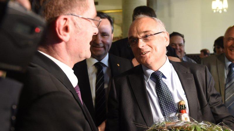 Avec la réélection de l'UDC Pierre Alain Schnegg, la droite reste majoritaire au Conseil exécutif
