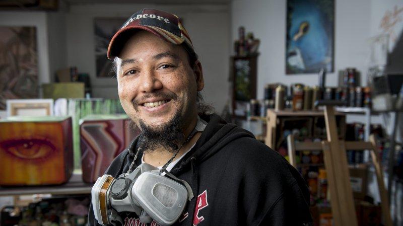 Le graffeur chaux-de-fonnier Soy reçoit un commandement de payer 20 ans après un tag