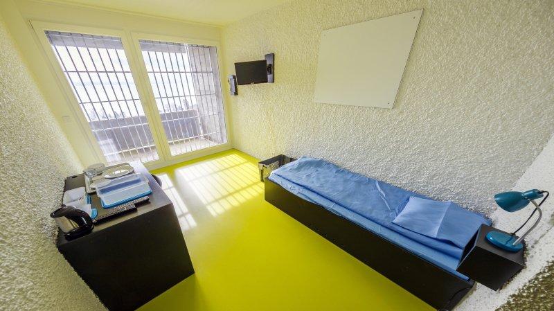 Gorgier: agrandie et désamiantée, la prison offre désormais 65 places de détention