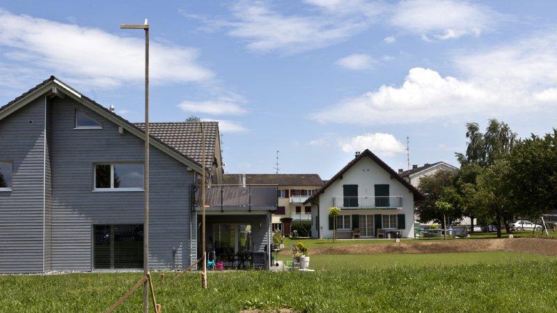Immobilier: les Suisses aspirent toujours plus à des maisons individuelles