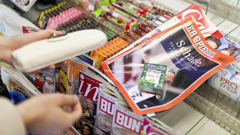 Selon une enquête du Surveillant des prix, les magazines français coûtent 79% plus cher en Suisse qu'en France, ceux édités en Allemagne 74% de plus et ceux provenant d'Italie 158% de plus.
