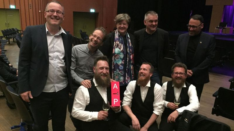 """""""Les Petits Chanteurs à la Gueule de Bois"""" lauréat du Prix suisse de la scène 2018"""