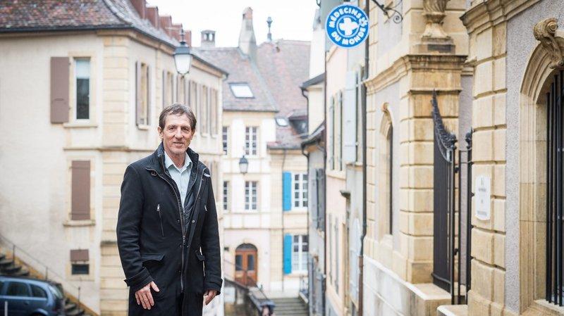 Le Neuchâtelois Jean Michel Jordan reprend la direction de Médecins du monde Suisse
