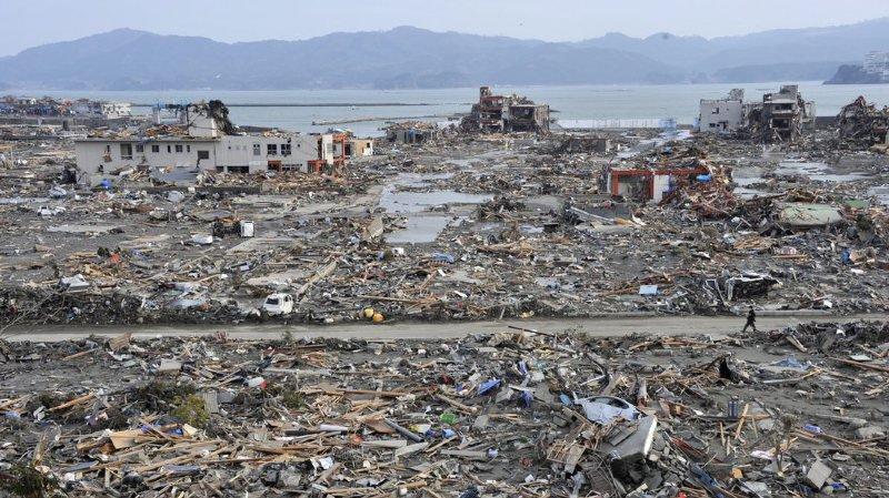 Au Japon, en 2011, la vague avait tout rasé sur son passage. Les recherches de Davide Wüthrich intéressent beaucoup les autorités nippones.