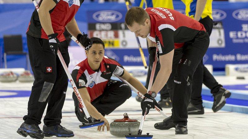 Championnat du monde de curling: les Suisses freinés après cinq succès