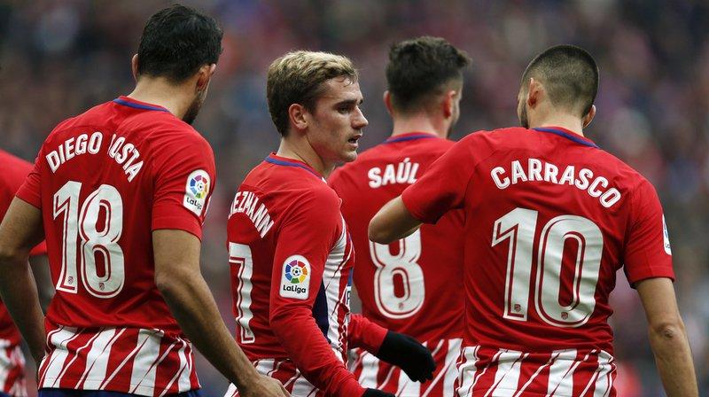 Espagne: à la voiture-bélier pour voler des maillots de l'Atletico Madrid