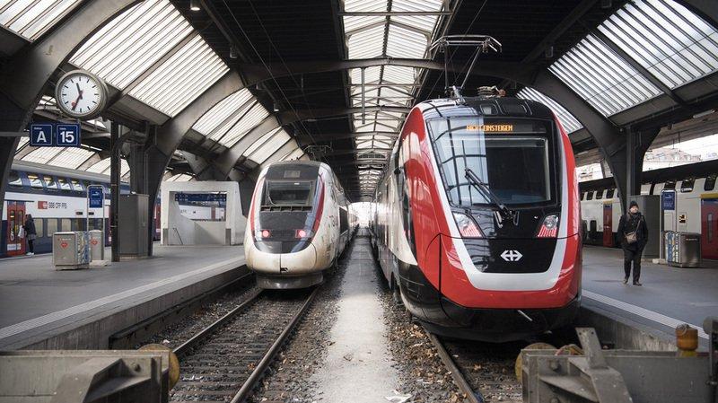 Transport ferroviaire: les CFF face à un week-end de travaux, les horaires perturbés