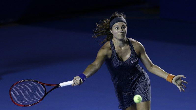 Tennis: Stefanie Vögele battue en finale du tournoi WTA d'Acapulco
