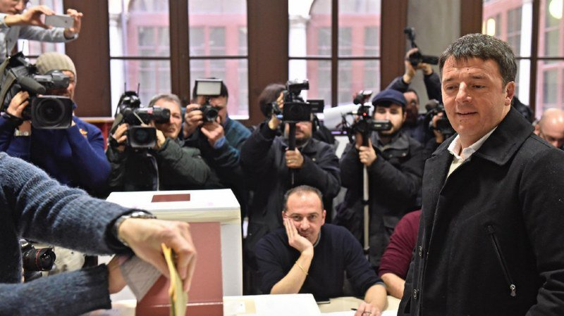 Elections italiennes: les Italiens de Suisse ont voté pour le Parti démocrate de Matteo Renzi, grand perdant du scrutin