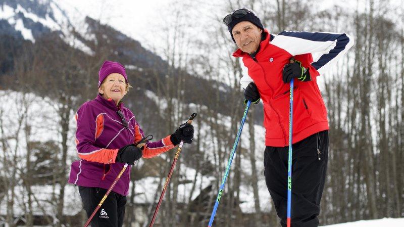 Ski de fond: Françoise a 80 ans, Ueli 70 ans, dimanche ils courront leur 49e Marathon de l'Engadine