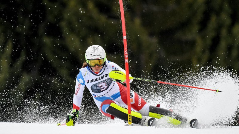 Ski alpin: Wendy Holdener deuxième du slalom d'Ofterschwang, derrière Shiffrin