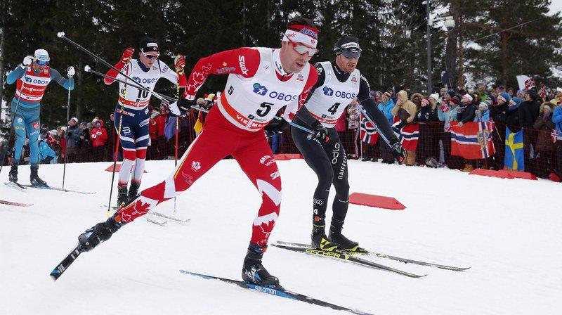 Ski nordique: Cologna manque son affaire pour la première étape de Coupe du monde, Klaebo s'impose